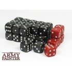 Set de 36 dés 6 - Wargaming Dice Black / Red