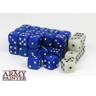 Set de 36 dés 6 - Wargaming Dice Blue / White