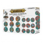 Citadel : Socles - Shattered Dominion 25 & 40mm Round Bases