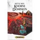 Age of Sigmar : Décors - Battle Mat Khorne Dominion (120x120cm)