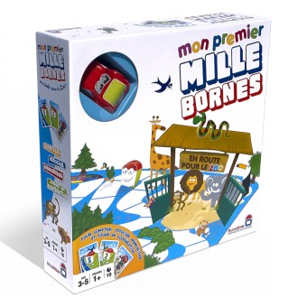 Mon premier mille bornes tous au zoo boutique philibert for Dujardin 1000 bornes