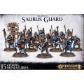 Age of Sigmar : Order - Seraphon Saurus Guard 0