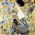 La dame à l'éventail - Klimt 80 pièces 1