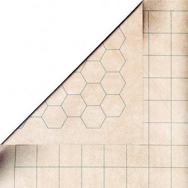 Mégamat reversible (carré - héxagone) - 88 cm x 122 cm