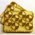 Set de marqueurs Bouclier rond SAGA 0