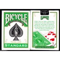 Standard - Vert - Bicycle - jeux de 54 Cartes 0
