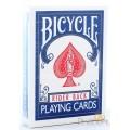 Recto / Verso Blanc - Rider Back - Bleu - Bicycle - 54 Cartes Spéciales Magie 0