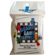 100 Board Game Sleeves 59x92mm