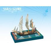 Sails of Glory - Proserpine 1785