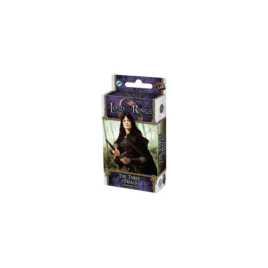The Three Trials Adventure Pack Lord of The Rings LCG