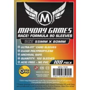 Card Game Sleeves - 55x80mm - 100p