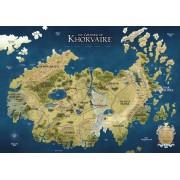 D&D : Eberron - Continent of Khorvaire Vinyl Campaign Mat