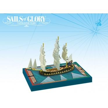 Sails of Glory - HMS Orpheus 1780