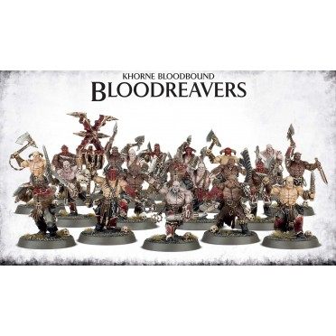 Age of Sigmar : Chaos - Khorne Bloodbound Bloodreavers