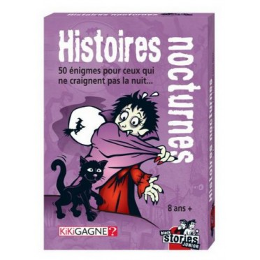 Black Stories Junior - Histoires Nocturnes
