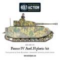 Bolt Action - German Panzer IV Ausf. F1/G/H medium tank (plastic boxe) 7