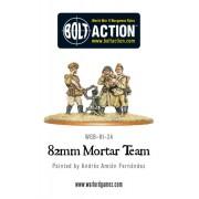 Bolt Action  - Soviet 82mm Mortar Team
