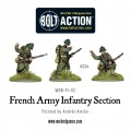 Bolt Action - French Army Infantry section 3