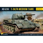Bolt Action  - Soviet -T34/76 Medium Tank (plastic boxe)