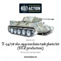 Bolt Action  - Soviet -T34/76 Medium Tank (plastic boxe) 1