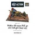 Bolt Action - German- Waffen-SS 75mm PaK 40 anti-tank gun (1943-45) 0