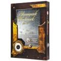Set de 7 Dés JDR - Steampunk Clockwork - Blanc/Noir 2