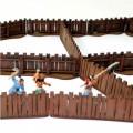 Village Wooden Fencing 2