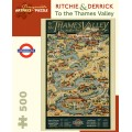 Puzzle - To the Thames Valley de Ritchie & Derrick - 500 Pièces 0