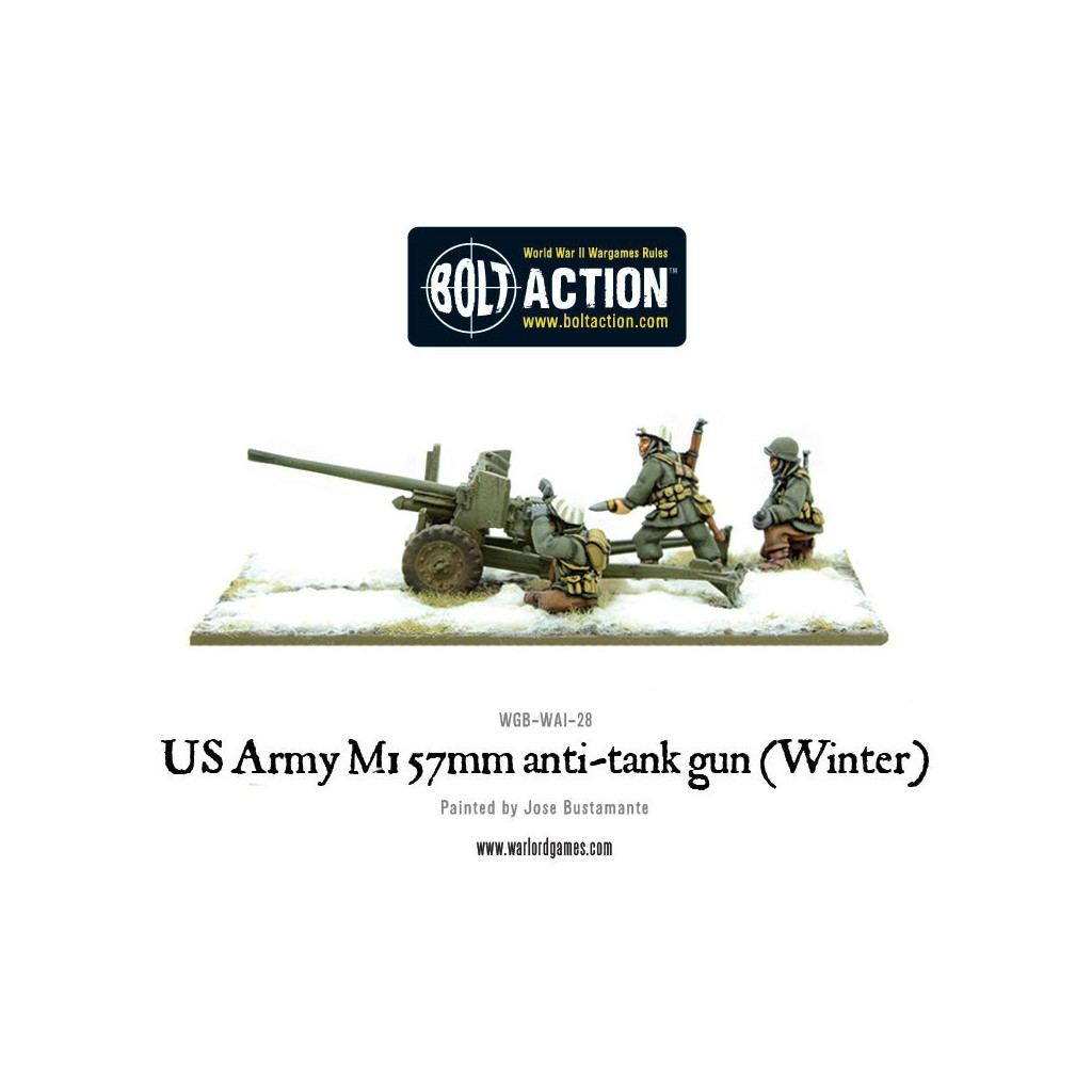 Buy Bolt Action - US Army 3-inch anti-tank gun M5 (Winter