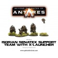 Beyond the Gates of Antares : Isorian Senatex support team with X-Launcher 0