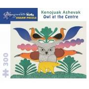Puzzle - Owl at the Centre de Kenojuak Ashevak - 300 Pièces