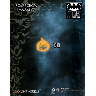 Batman - scarecrow Game Markers