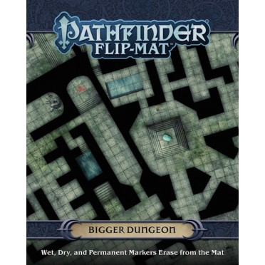 Buy Pathfinder - Flip Mat: Bigger Dungeon - Board Game - Paizo Publishing