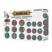 Citadel : Socles - Shattered Dominion 25 & 32mm Round Bases