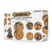 Citadel : Socles - Shattered Dominion 40 & 65mm Round Bases