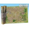 Terrain Mat Tissue - Wings of Glory : Game Mat Noman's Land - 68x98 0