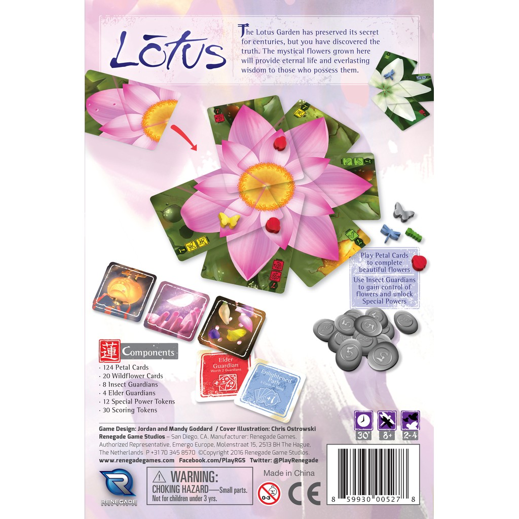 Buy Lotus - Board Game - Renegade Game Studio