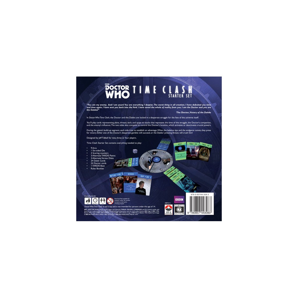 Buy Doctor Who: Time Clash Starter Set - Board Game -