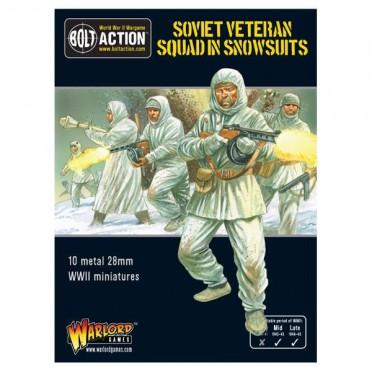 Bolt Action - Soviet Veteran Squad in Snowsuits
