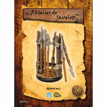 Briskars - Râtelier de Javelots