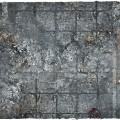 Terrain Mat PVC - City Ruins - 90x90 1