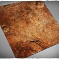 Terrain Mat Mousepad - Red Planet - 120x120 0
