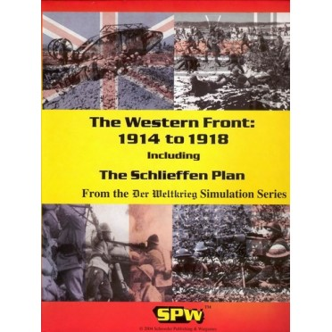 Buy The Western Front: 1914-1918 - Board Game - Schroeder Publishing &  Wargames