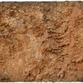 Terrain Mat PVC - Badlands - 120x120 3