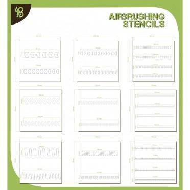 Stencils Packs : Arrows & Stripes
