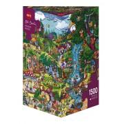 Puzzle - Wonderwoods de Rita Berman - 1500 Pièces