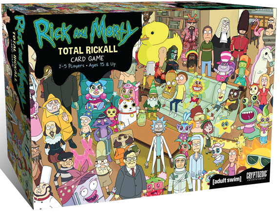 Buy Rick and Morty: Total Rickall Card Game - Board Game - Cryptozoic  Entertainment