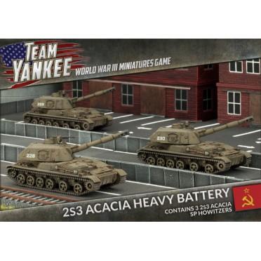 Team Yankee - 2S3 Acacia Heavy SP Howitzer Battery
