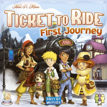 Ticket to Ride - First Journey : Europe