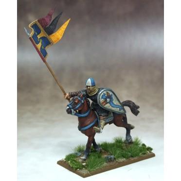 Bannière de guerre Bretonne et Porteur